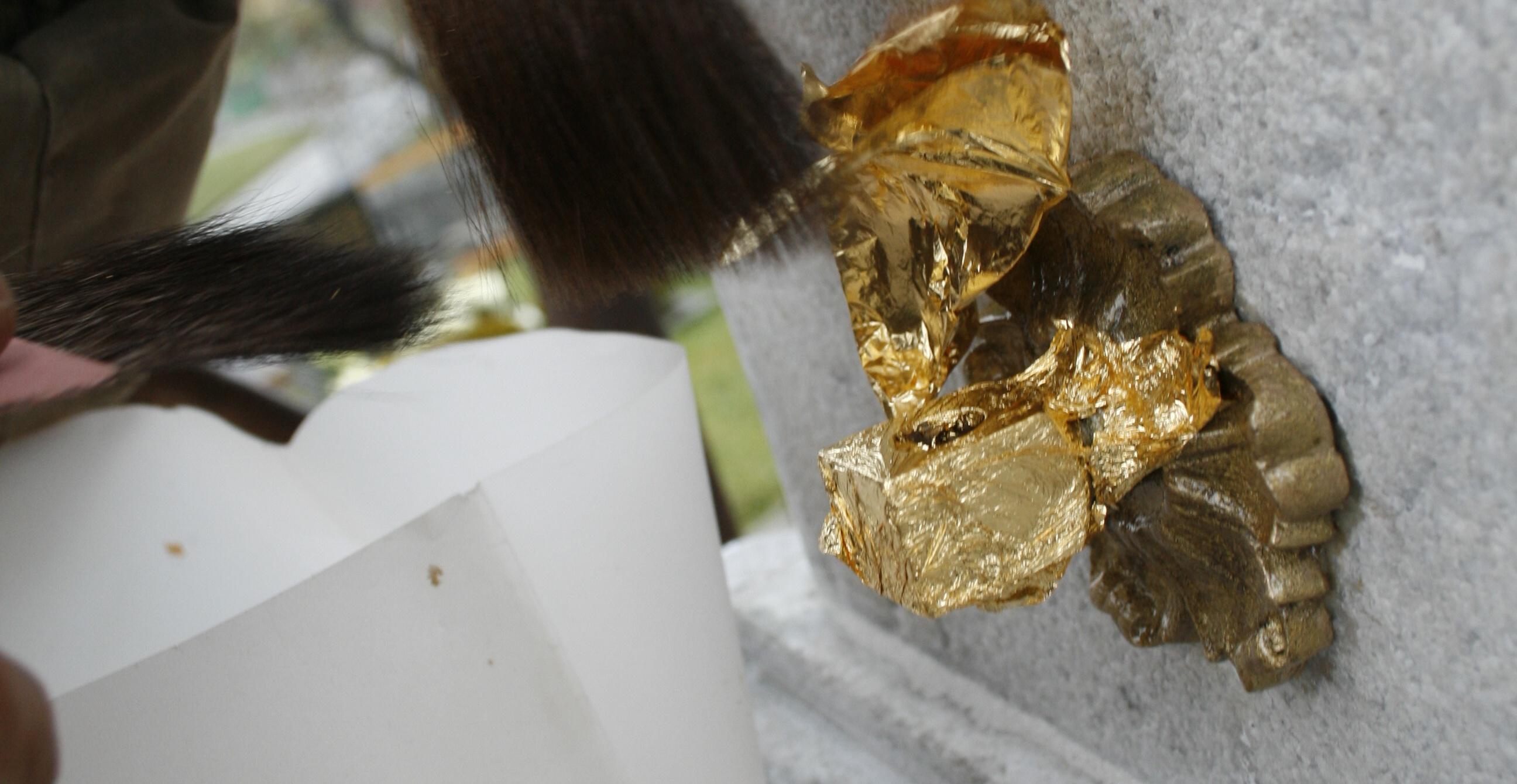 plátkové zlato